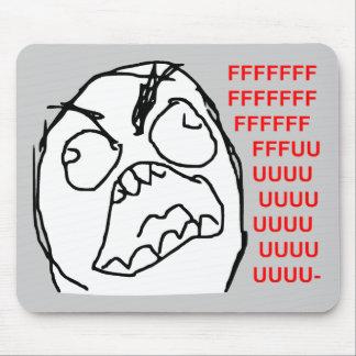 För Fuu Fuuu för ursinnegrabb ilsket ansikte Meme  Mus Mattor