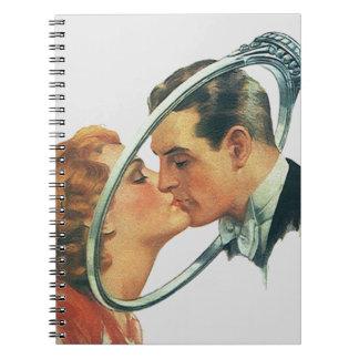 För gästbok för anteckningsbok Retro
