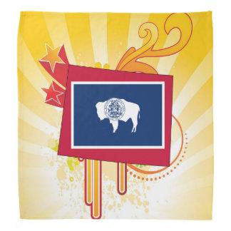För gåvor: Wyoming flaggakarta Bandana