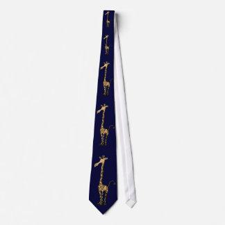 För girafftecknad för BU fantastisk slips