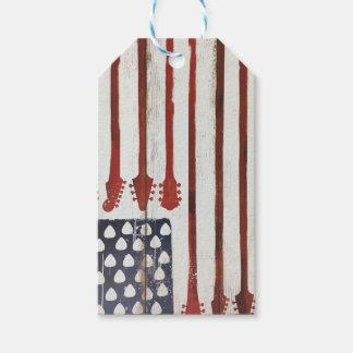 För gitarrmusik för amerikanska flaggan presentetikett