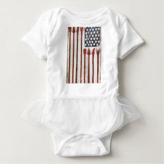 För gitarrmusik för amerikanska flaggan t shirts