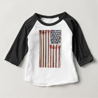 För gitarrmusik för amerikanska flaggan tee shirt
