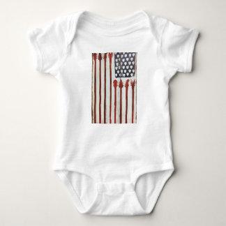 För gitarrmusik för amerikanska flaggan tröjor