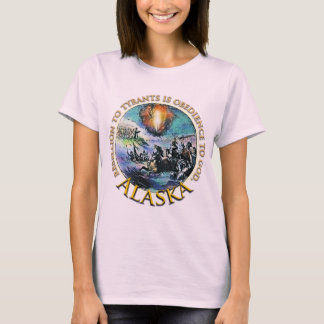 För Glenn för Alaska Teaparty t-skjorta Beck T-shirts