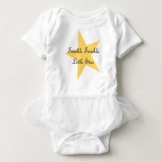 För glimt stjärnaBodysuit lite Tshirts