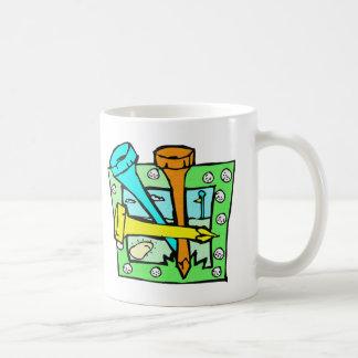 För golfarna kaffemugg
