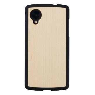 För Google för trä slankt fodral Nexus 5 Carved® Lönn Nexus 5 Slim Fodral