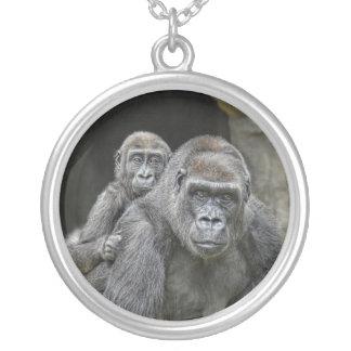 För gorilla halsband #1 på ryggen