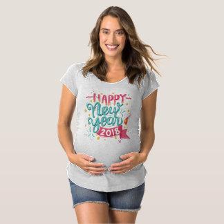 För gott nytt årmoderskap för anpassade färgrik tee shirt
