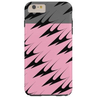 För grå färgkanonmetall för komplex sparre rosa tough iPhone 6 plus skal