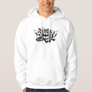 För grafittinamn för uppassare | logotyp sweatshirt med luva