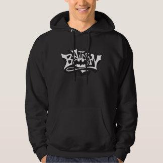 För grafittinamn för uppassare | logotyp tröja med luva