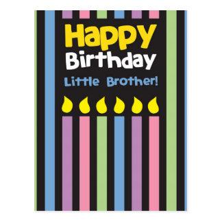 För grattis på födelsedagen broderstripey lite vykort