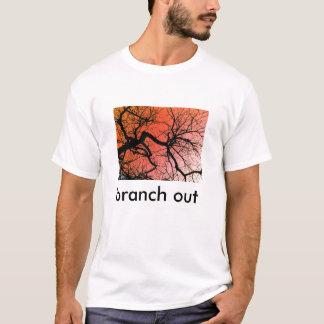 för gren röd himmel ut - tee shirts