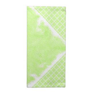 För grönt halv kontroll sommarstänk för Mint Tygservett