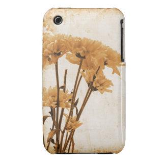 För Grungedesign för vintage blom- fodral för iPhone 3 Covers