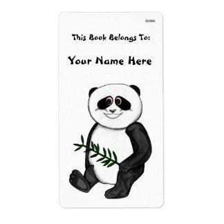 För gullig Pandabjörn Fraktsedel