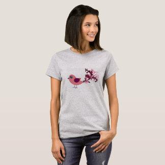 För gullig skjorta för fågelgrafikutslagsplats tee shirts