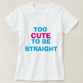 För gulligt att vara rak T-tröja Tröjor
