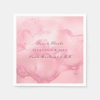 För hallonmarmor för smält ro Mauve rosor för Pappersservett