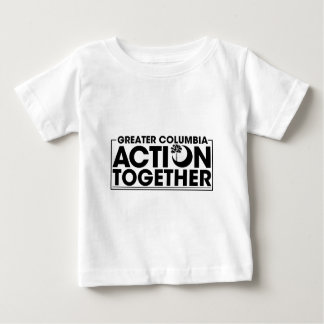 För HANDLING logotyp TILLSAMMANS T-shirt