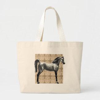 För hästjumbo för grå färg arabisk toto jumbo tygkasse