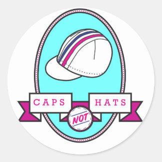 För hattkampanj för lock inte klistermärke