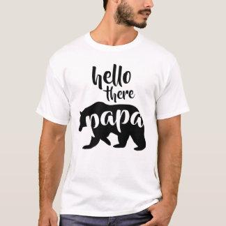 För hejer pappabjörn där tröjor
