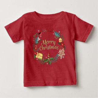 För helgdagjulafton för god jul festlig t-shirt