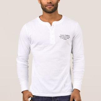 För Henley för personligt bröllpmanarkanfas T Shirts
