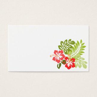 för hibiskusfloror för hawaii-309006 hawaii blom- visitkort