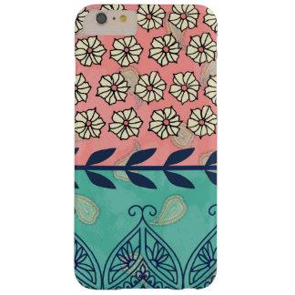 För Hipster för Boho Paisley flickaktigt fodral Barely There iPhone 6 Plus Skal