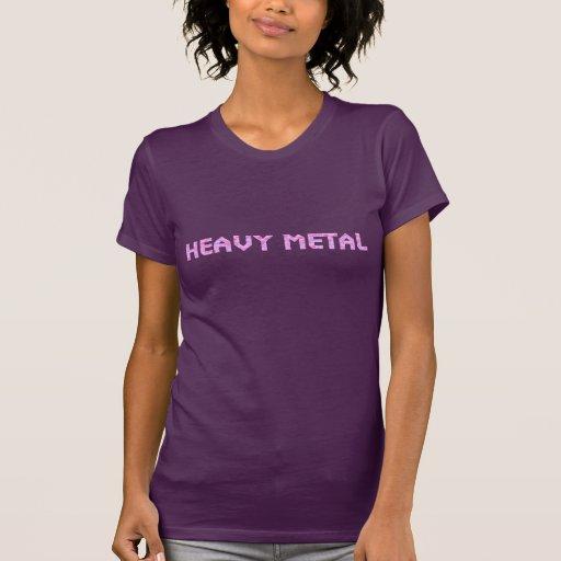 För hjärtaheavy metal för damer Lil skjorta Tee Shirts