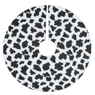 För Holstein för prickig lite muko holländska Julgransmatta Borstad Polyester