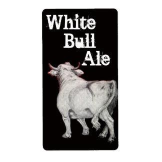 För Homebrewing för vittjuröl etikett för flaska Fraktsedel