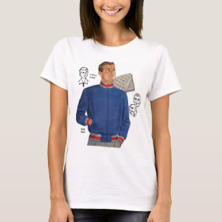 För hötorgskonst40-tal för vintage Retro manar för T Shirt