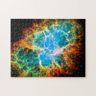 För Hubble för kvarleva för krabbaNebulaSupernova Pussel