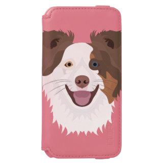För hundansikte för illustration lycklig Collie
