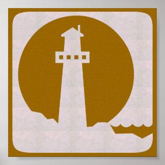 För HUShavet för den grafiska decoen seglar den Poster