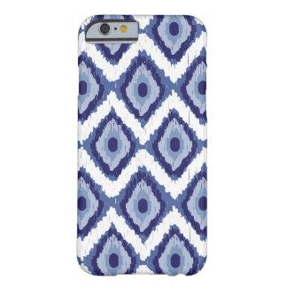 För Ikat för blått stam- sparre för vit diamant Barely There iPhone 6 Skal
