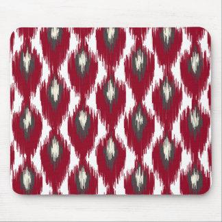 För Ikat för vingråttabstrakt stam- mönster Musmatta
