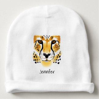 för illustrationnamn för cheetah head beanie för