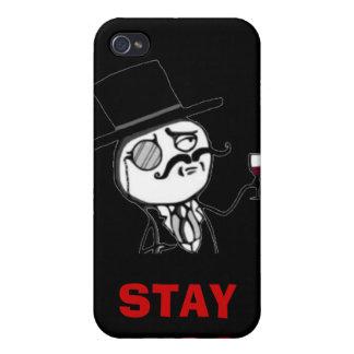 För internetMeme för stag flott iphone case för an iPhone 4 Hud