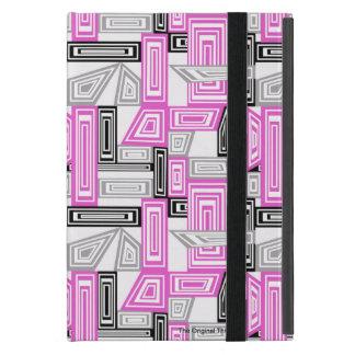För ipadkortkort för abstrakt geometrisk konst iPad mini skydd
