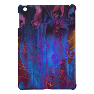 För ipadkortkort för kosmisk händer märkes- fodral iPad mini skydd