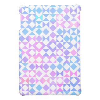 För iPadkortkort för nätt triangel geometriskt iPad Mini Mobil Skal