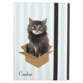 För iPadluft för randar och för kattunge iPad Air Skydd