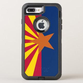 För Iphone 7 för Arizona flaggaOtterbox symmetri