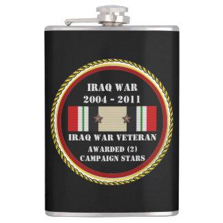 FÖR IRAK FÖR 2 KAMPANJSTJÄRNOR VETERAN KRIG